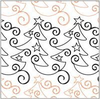 Christmas-Whimsy-quilting-pantograph-pattern-Patricia-Ritter-Urban-Elementz