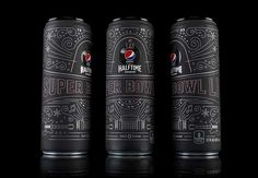 Pepsico Offered Limited Edition Cans for This Year's Super Bowl   									In order to celebrate this year's Super Bowl, PepsiCo enlisted the creative agency Theory House to create limited edition cans for attendees of the big event.  The cans hold PepsiCo's zero sugar drinks...