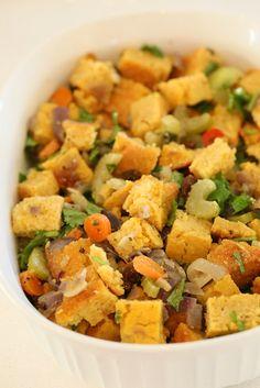 Vegan Lentil Quinoa Loaf, Vegan Cornbread Stuffing, Spicy Cranberry Sauce, Pumpkin Pie - Vegan Richa