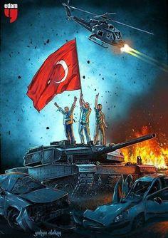 Tek bayrak! Tek millet!  Tek vatan! 🇹🇷💪 Allah, Turkish Soldiers, Armed Forces, Master Chief, Istanbul, Cool Photos, Diy And Crafts, Turkey, Marvel