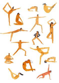 Yoga tout nu