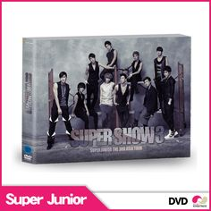 【韓国盤 DVD】SUPER JUNIOR [Super Show 3 DVD] スーパージュニア THE 3RD ASIA TOUR Super Show 3 2dvd + Special ColorPhotoBook  show3【楽天市場】