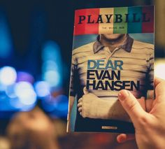 """30k Likes, 320 Comments - Dear Evan Hansen (@dearevanhansen) on Instagram: """"Today you're you, and that's enough. #PrideMonth : @castle_ny"""""""