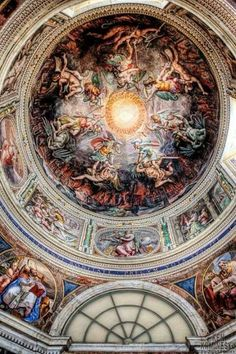 I've seen this in person, and TRUST me...it's absolutely gorgeous. What a feat of human accomplishment. #TheVatican