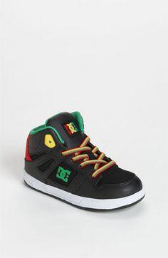 DC Shoes 'Rebound' Sneaker (Walker & Toddler) available at #Nordstrom must have for Landen :)