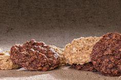3. No-Bake Honey Peanut Butter Cookies