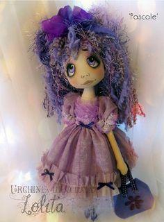 Urchin Lolita  Pascale by lilliputloft on Etsy