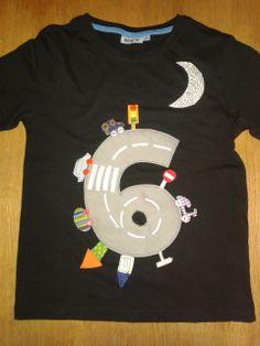 Camiseta amb aplicacions Marc 6 anys