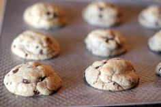 Levain Bakery Inspired Chocolate Chip Walnut Cookie Recipe from Love from the Oven