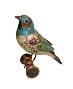 Steampunk Bluebird