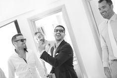 Funny shot of groom and his friends getting ready- Mitheo Events | Concept Events Styling