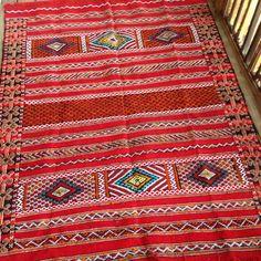 Moroccan Kilim Rug - ON SALE!! Authentic Vintage Handwoven Wool