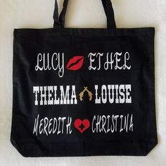 Everyday Tote Bag  She's My Person by aKellyJeancreation on Etsy
