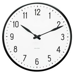 Arne Jacobsen Station Clock Wanduhr d=29 cm