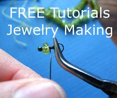 Beth Hemmila of Hint Jewelry: Behind the Scenes: How to Wire Wrap Gemstones (Fancy Triple Wire Wrap Loop Dangle)
