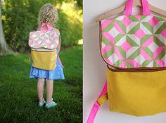 13 Adorable and Modern Kid's Backpacks to Buy or DIY
