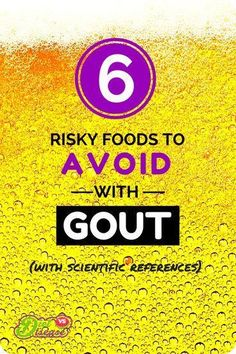 In theory, consuming less purine-rich foods should lower your #gout risk. But it's not that simple. Other nutrients appear to aggravate gout symptoms too… See them all at http://www.dietvsdisease.org/foods-to-avoid-with-gout/?utm_content=bufferf5612&utm_medium=social&utm_source=pinterest.com&utm_campaign=buffer  #uricacid #purines #alcohol #fructose