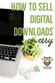 """Great tips on selling digital downloads on Etsy - I'm exploring this area as an culturalpreneur #digitalmedia - My fav tip? """"Etsy keeps 3% of every sale. Initially, I signed up with PayPal, however PayPal takes an additional 3%. I stopped utilizing PayPal and connected my Etsy page directly to my bank account. Now, I receive an order and the money is in my bank account within a couple of days."""""""