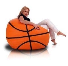 Bomba Basketbal zitzak leatherlook Ø 100cm