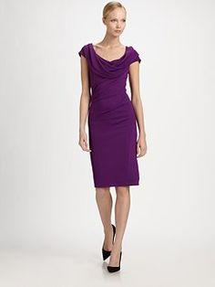 Donna Karan - Cowl Dress - Saks Fifth Avenue