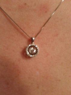 My Diamonds in Rhythm necklace from Kays Jewlers...from my wonderful Husband.  :)