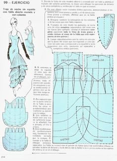Wall Barbie Patterns, Dress Sewing Patterns, Doll Clothes Patterns, Vintage Sewing Patterns, Sewing Clothes, Clothing Patterns, Pattern Cutting, Pattern Making, Sewing Tutorials