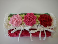 crochet hook jelly roll....this one is really cute