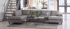 FRISCO Hjørnesofa Settee, Brown Leather, Couch, Bedroom, Furniture, Design, Home Decor, House, Decoration Home