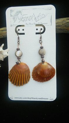 Check out this item in my Etsy shop https://www.etsy.com/listing/212085598/shell-earrings