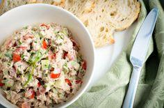 Salada de Atum Crocante