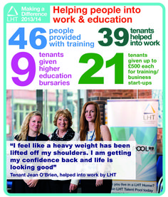 Making a Difference 2013/14 - Work and Education