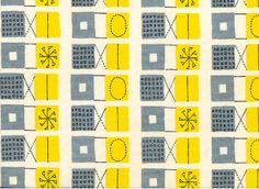woollen dress textile for John Lewis, 1953