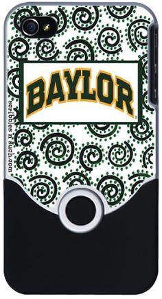 Baylor University iPhone Cover - I want one!