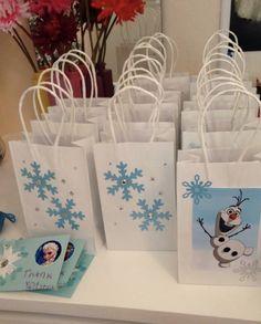 10 treatbags Frozen olaf por Shellyscraftrooom en Etsy