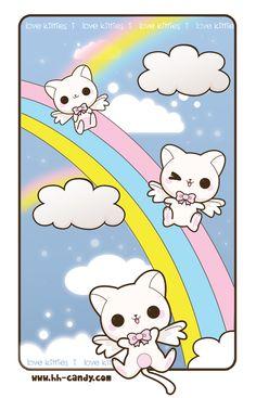 Angel Kitties by A-Little-Kitty.deviantart.com on @deviantART