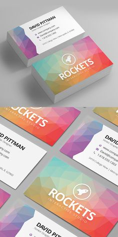 New corporate business card templates are clean, elegant and professionally designed highly-creative business cards can impress your clients and effectively Premium Business Cards, Unique Business Cards, Business Card Design, Creative Business, Print Templates, Cv Template, Name Card Design, Branding Design, Cv Design