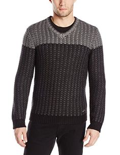 Calvin Klein Men's Two-Tone V-Neck Sweater Reviews   	  	    	  	$ 148.00 Pullover Sweaters Product Features Color-block sweater in textured knit featuring contrast yoke and V-neckline Pullover Sweaters Product Description A bold, color-block design and chunky textured knit add interest to this flattering V-neck sweater Find More Pullover Sweaters Products  http://www.freesweaters.com/calvin-klein-mens-two-tone-v-neck-sweater-reviews/