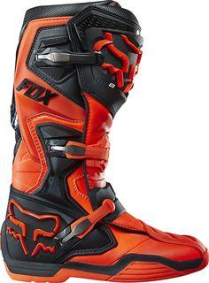 Oronge Fox racing boots