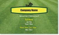 grass lawn Standard Business Cards