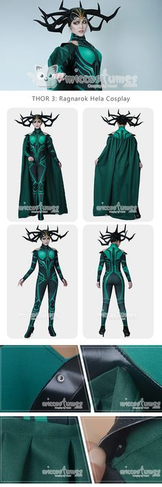 More about THOR 3: Ragnarok Hela Cosplay Costume with Cloak made by Miccostumes  #cosplay #miccostumes #THOR3Ragnarok #Hela #CosplayCostume #THOR #HelaCosplay #thorhela #thor3 #thor3cosplay