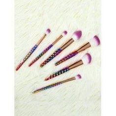 trendsgal.com - Trendsgal 6 Pcs Ombre Nylon Makeup Brushes Set - AdoreWe.com