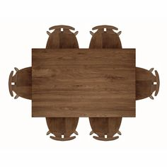copeland furniture audrey dining table top view