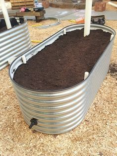 A wicking bed is a self-watering raised garden bed, and even though the design is a relatively new innovation that is catching the attention of many produce gardeners worldwide, it is essentially n…