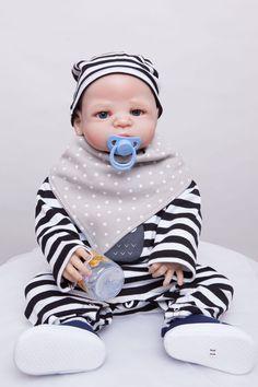 55cm Full Silicone Reborn Boy Baby Doll Toys Bathe Shower Toys Babies Reborn Doll Christmas Present Birthday Gift Girls Brinqued