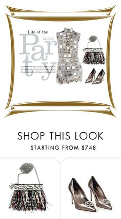 """""""Summer Party"""" by evachasioti ❤ liked on Polyvore featuring Chanel, Gucci, Marc Jacobs, Summer and party"""
