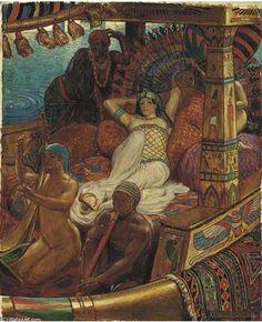 """""""Cleopatra"""" John Byam Liston Shaw"""