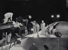 The Day the Earth Stood Still (1951) - behind the scenes