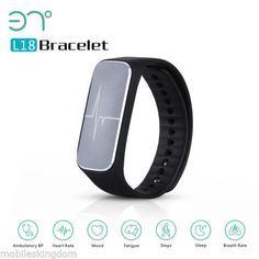 Heart Rate Mood/Fatigue Monitor Smart Health Bracelet Pedometer Sleep Androi IOS - https://www.trolleytrends.com/?p=483995