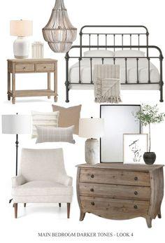 Dream Bedroom, Home Bedroom, Master Bedroom, Bedroom Decor, Taupe Bedroom, Taupe Color Schemes, Dear Lillie, Guest Bedrooms, Spare Bedroom Ideas