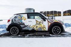 Meet the MINI Paceman SNOW BEAST | Custom Mini cooper | mini art cars | mini | miniac | dream mini cooper | MINI Paceman | Schomp MINI